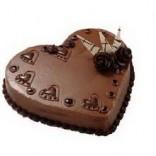 Kalpli Çikolatalı Yaş Pasta