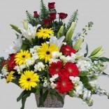 Sepette Mis Kokulu Çiçekler