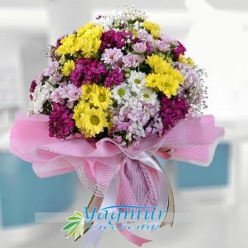 Rengarenk Mevsim Çiçekleri