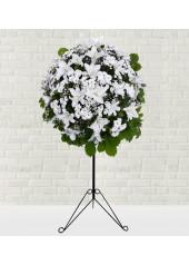Lilyumlu Ferforje Çiçek Aranjmanı