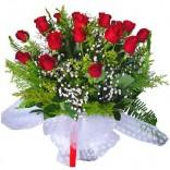 Kırmızı güllerle hep seni  beklerim